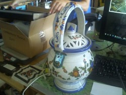 pot faience italie