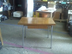 Table formica + rallonges